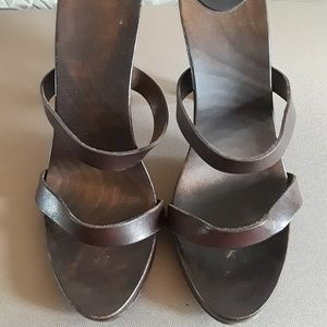 Original Aldo African style Brown and ivory